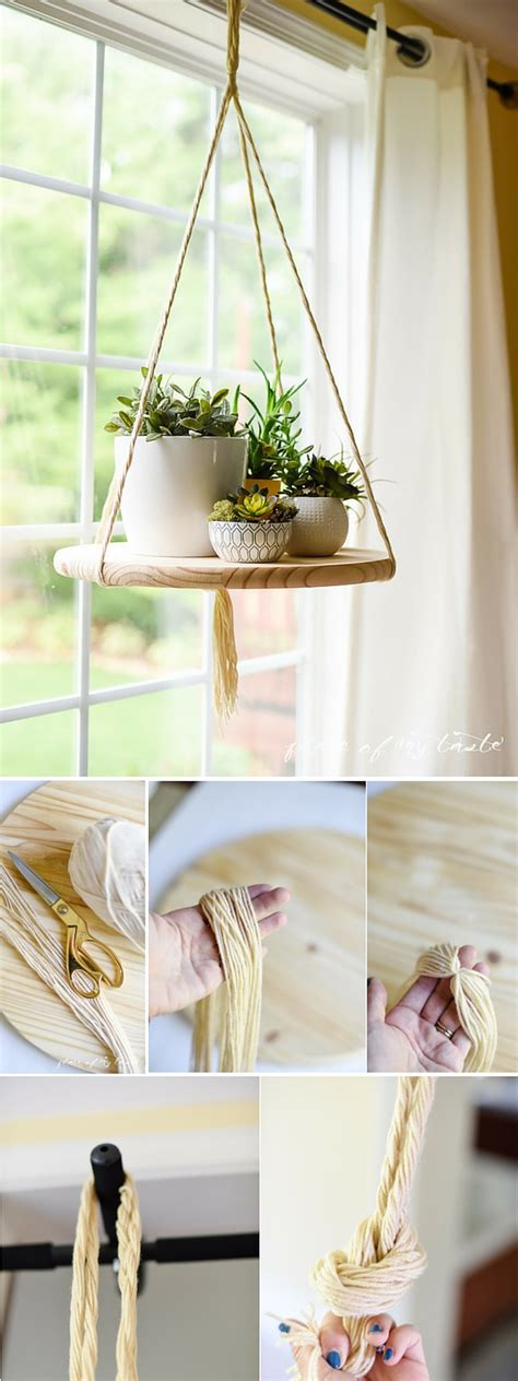 diy home decor diy floating shelf