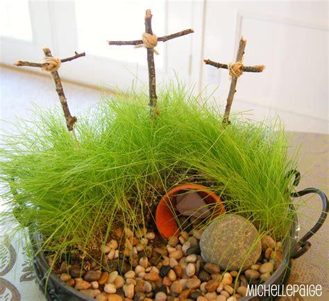 Easter Garden Ideas Blogs Easter Cross Crafts