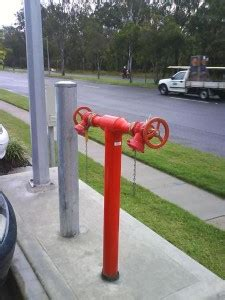 fixed bollard bollards qld australia