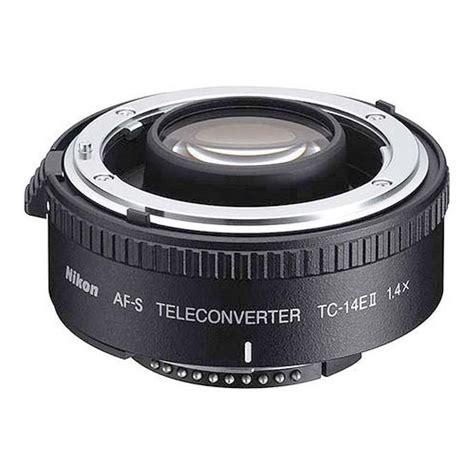 Teleconverter Lens 1 4x nikon af s tc 14e ii 1 4x teleconverter lens black