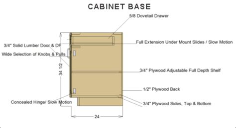 standard kitchen base cabinet sizes standard kitchen base cabinet dimensions 13918