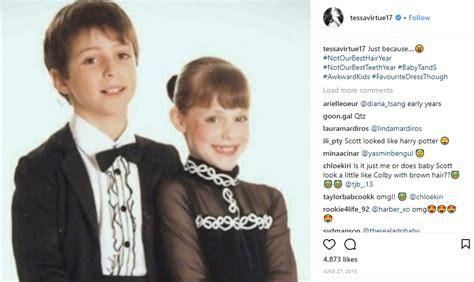 age de tessa virtue ice dance duo tessa virtue and scott moir actually did