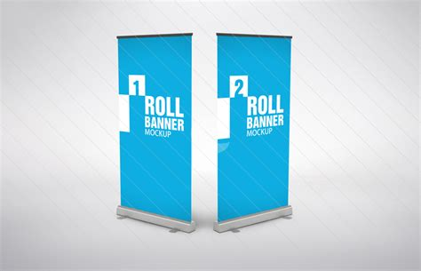 design banner mockup 8 roll up banner psd mockups images free banner roll up