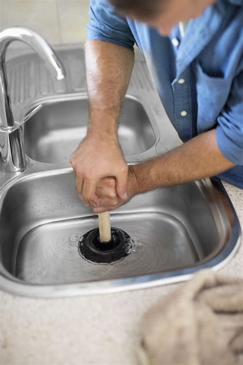 How To Unclog A Kitchen Sink Filled With Water How To Unclog A Kitchen Sink