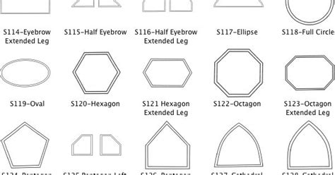 Different Shapes Of Windows Inspiration Shape Windows Codes And Titles Architectural Sketches Pinterest Shapes Window And