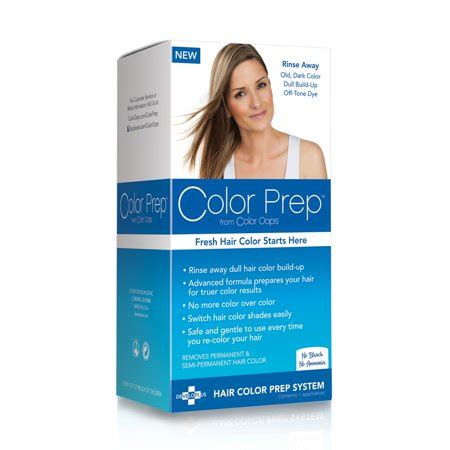 color hair color remover color prep from color hair color build up treatment