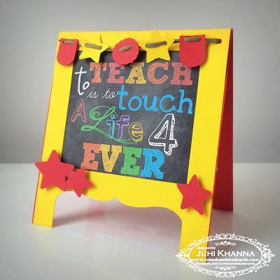 Teachers Day Greeting Cards Handmade - 17 best ideas about handmade teachers day cards on