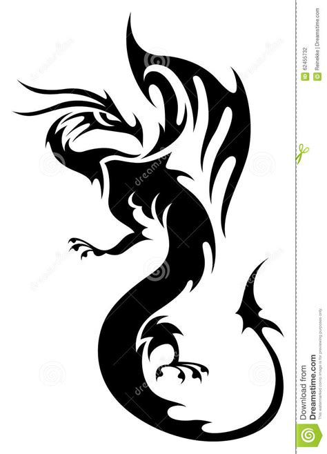 dragon stock vector image of mythology salon myth