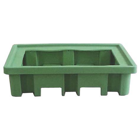 vasche di plastica vasche di raccolta in plastica per 2 fusti in acciaio