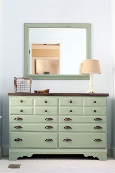 mint green dresser 15 eye catching dresser diys