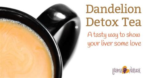 Roasted Dandelion Root Tea Detox Recipe by Dandelion Root Tea A Tasty Way To Show Your Liver Some