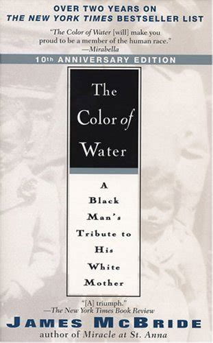 mcbride the color of water the color of water by mcbride riverhead books