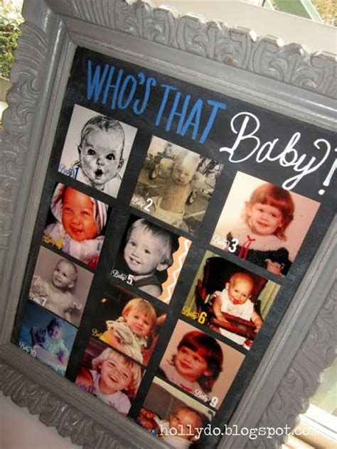 Guess Whos A Baby by 15 Hilarious Baby Shower To Play Including Pin The