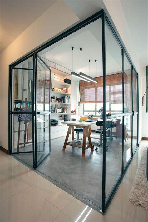 patio room interior hdb glass foldable door for study room studies