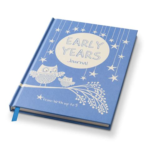 New Look Gift Card Ireland - early years journal notebook blue gift journal for new mum and dad