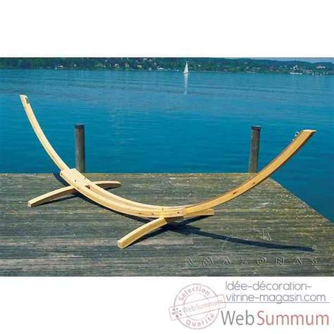 magasin de hamac support hamac arcus larch en bois de m 233 l 232 ze 4045000