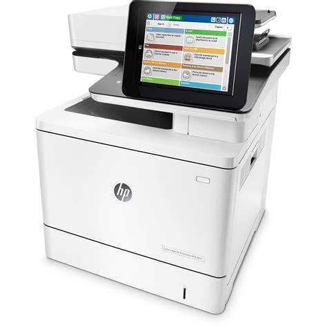 Hp Color Laserjet Enterprise M577dn All In One Laser Hp Laser Color Printer L