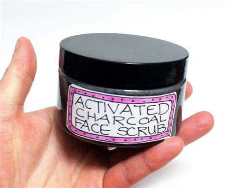 Baby Food Scrub Mask Charcoal activated charcoal scrub recipe