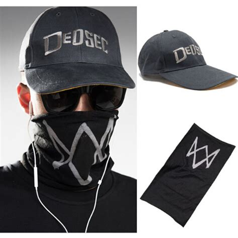 dogs 2 mask high quality black mask dogs 2 wd2 holloway dedsec hat
