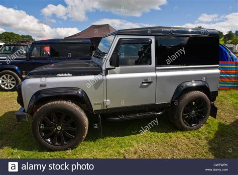land rover defender svx customised 4x4 land rover defender svx at annual eastnor