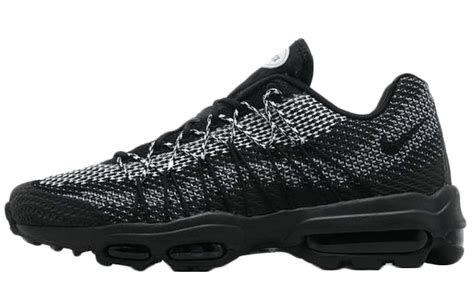 black 110s nike air max 95 ultra jacquard blackout the sole supplier