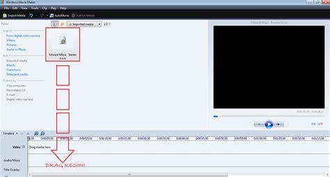 tutorial memakai windows movie maker cara memotong lagu mp3 menggunakan windows movie maker