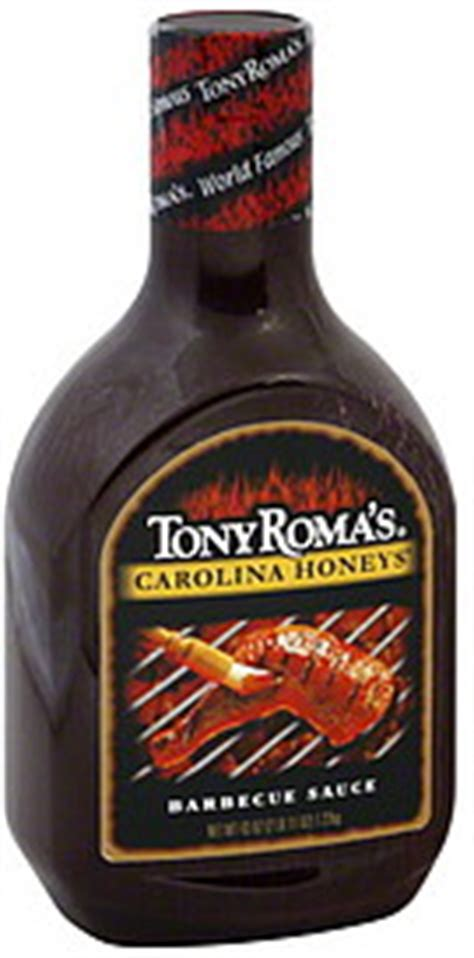 Tony Romas Carolina Honeys Bbq Saucebarbecue Sauce tony roma s barbeque sauce carolina honeys 43 0 oz