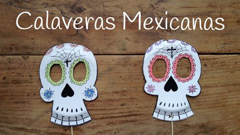 imagenes de calaveras mexicanas infantiles c 243 mo dibujar calaveras mexicanas manualidades para ni 241 os