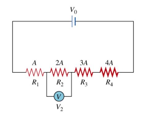 two resistors in series mastering physics four wires are madeof the same highly resistive ma chegg