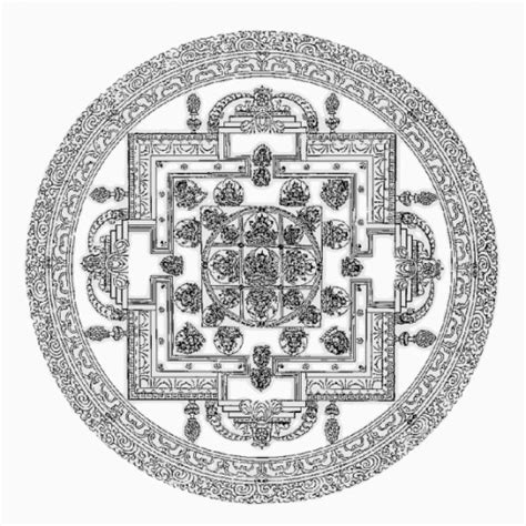 sand mandala coloring pages free printable mandala coloring pages and pictures