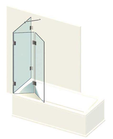 trennwand badewanne badewanne trennwand faltwand konfigurieren anfragen