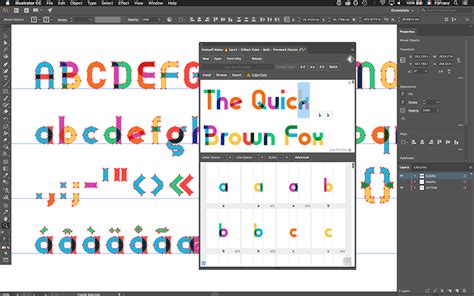 adobe illustrator cs6 extensions fontself maker to bring color font creation to anyone