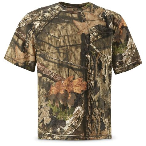 Camouflage Sleeve Shirt guide gear s sleeve camo t shirt 660898 camo