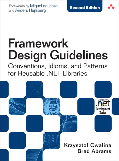 framework design pearson education framework design guidelines