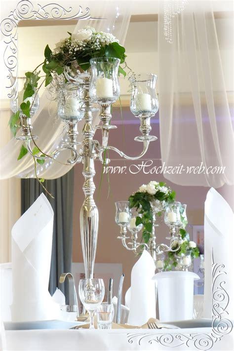 Hochzeitsdeko Kerzen by Tischdeko Mit Kerzenleuchter Kerzenst 228 Nder