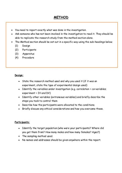 Psychology Report Template Psych Report Template