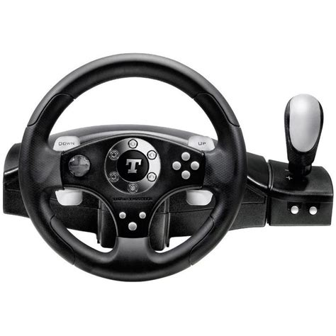 Harga Pc Racing Wheel With Clutch And Shifter by Steering Wheel And Pedals Thrustmaster Rgt Feedback