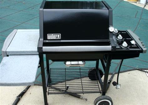 Weber Grill Silver by Weber Genesis Silver C All Parts Installed All