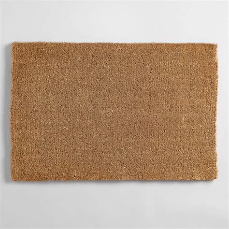 What Does Mat In Sales by Coir Basic Doormat World Market