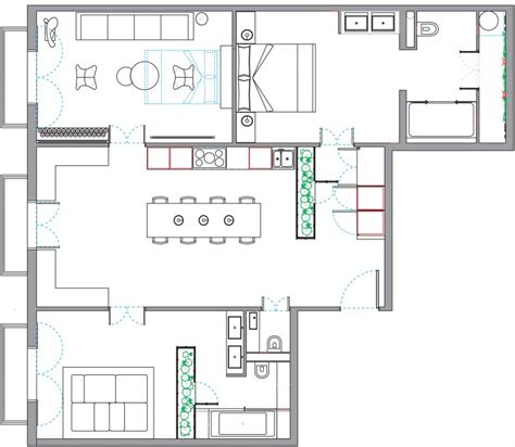 house design room layout living by the market by egue y seta homedsgn