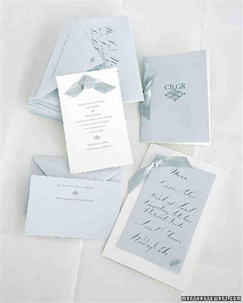 Martha Stewart Wedding Invitations classic wedding invitations martha stewart weddings