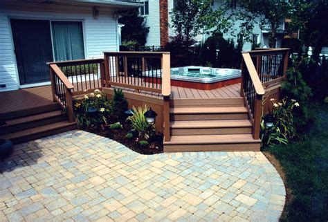 Deck With Patio Designs 30 Outstanding Backyard Patio Deck Ideas To Bring A Relaxing Feeling
