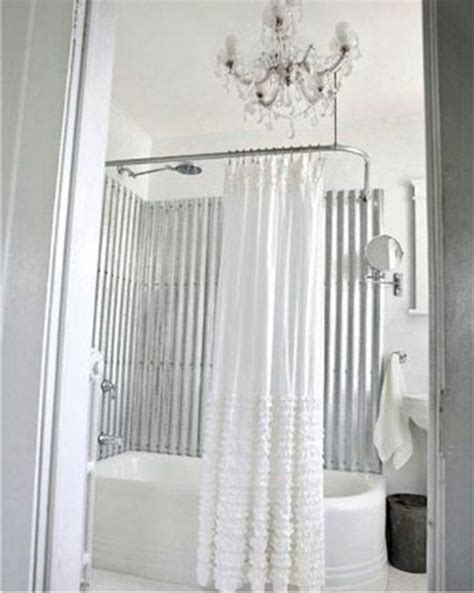 different kind of curtains different types of shower curtains cottage bath pinterest