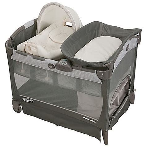 pack and play bed graco 174 pack n play 174 playard with cuddle cove removable