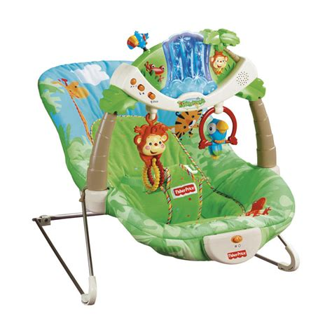 rainforest swing chair fisher price mums picks 2015 best baby bouncers and swings babycentre