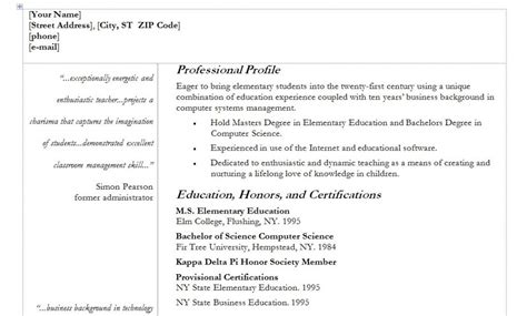 Resume Writing Quotes Resumes Template With Quotes Quotesgram