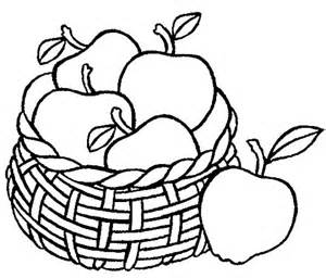 drawing apple basket coloring pages best place to color