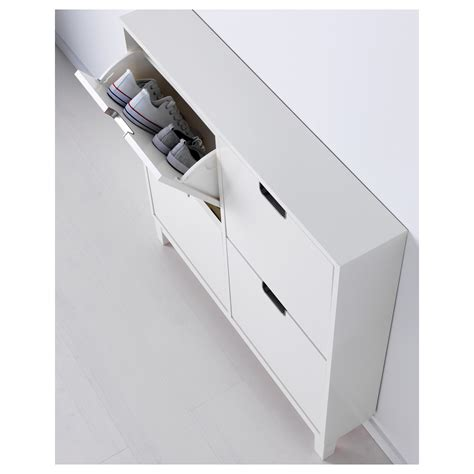 shoe cabinet with 4 compartments st 196 ll shoe cabinet with 4 compartments white 96x90 cm ikea