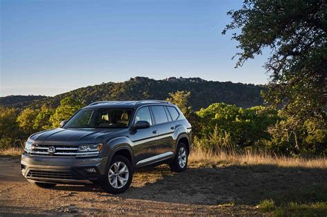 volkswagen atlas 2018 2018 volkswagen atlas named top safety pick by iihs