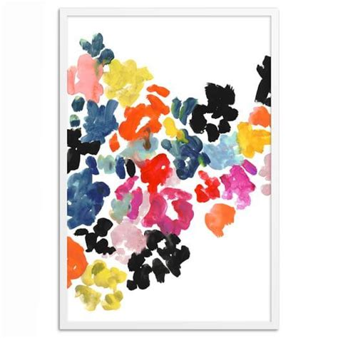 Kate Spade Wall Decor kate spade saturday wall painted floral scout sixteen x west elm x homepolish